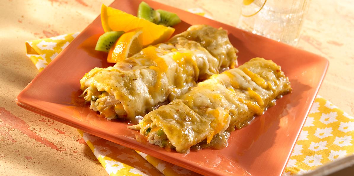 Green Chile Chicken Enchiladas Recipe Sargento Foods Incorporated