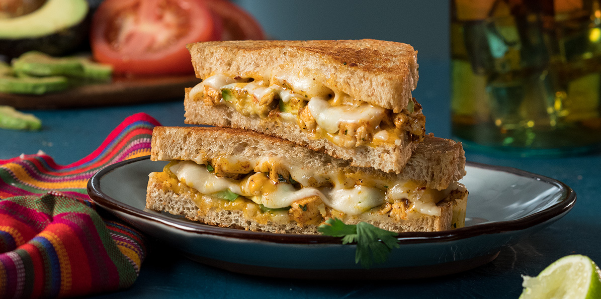 Mexi Chicken Grilled Cheese Recipe Sargento Foods Incorporated