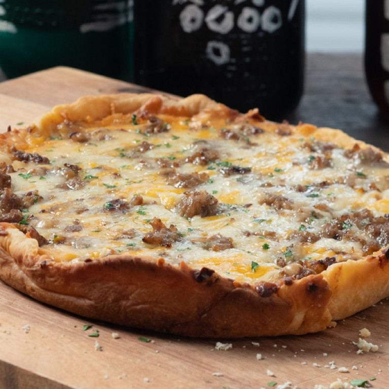 ShreddedCheese SlowCookerPizza