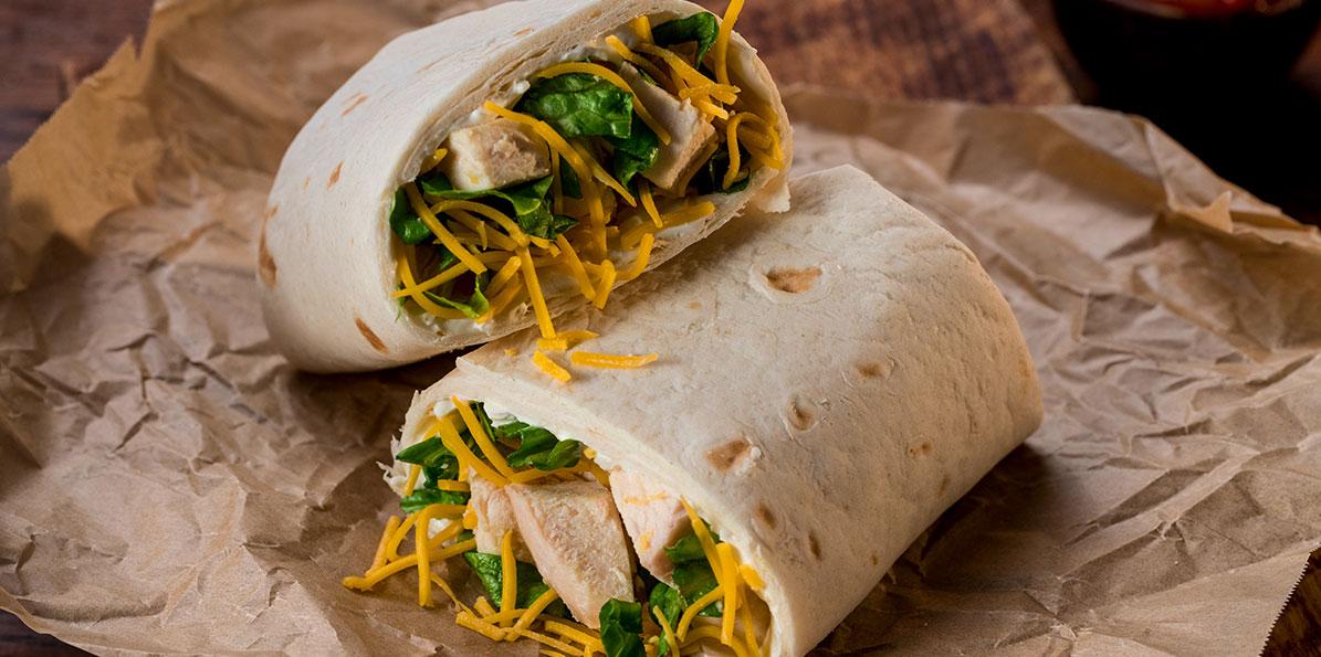 Chicken Tortilla Wraps Recipe Sargento Foods Incorporated